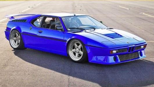 Blue BMW M1